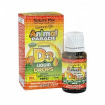 Animal Parade Vitamina D3 gotas 10ml Nature´s Plus