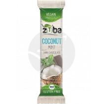Barritas De Coco menta y Chocolate Negro Bio Vegano sin gluten Zuba
