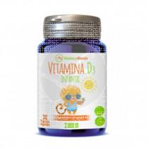 Vitamina D3 Infantil 2000ui 30capsuals Ynsadiet