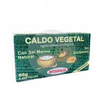Caldo Vegetal con Sal Marina 6 Cubitos integralia