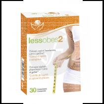 Lessobes 2 control calorias 30 capsulas Bioserum