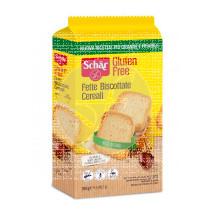Fette Biscottate Cereali biscotes con cereales 250 gr Dr Schar