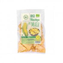 Nachos Maiz Natural sin gluten Bio 125Gr Solnatural
