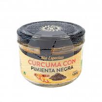 Cúrcuma con Pimienta Negra En polvo Bio 100Gr Solnatural