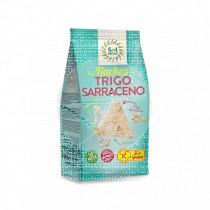 Nachos De Trigo Sarraceno Amaranto y Quinoa Bio sin gluten Solnatural