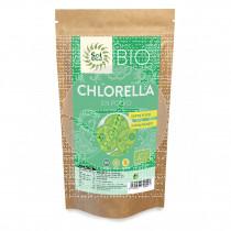 Clorella En polvo Bio sin gluten Vegano Solnatural