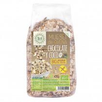 Muesli De Avena Chocolate y Coco Bio Solnatural