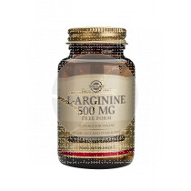Larginina 500mg 50capsulas Solgar