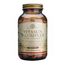Vitamina B-Complex con vitamina C 250 cápsulas Solgar