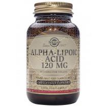 Acido Alfa Lipoico 120Mg 60capsulas Solgar