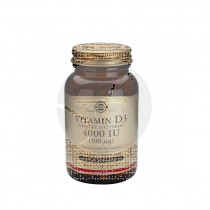 Vitamina D3 4 000Ui 60Cap Solgar