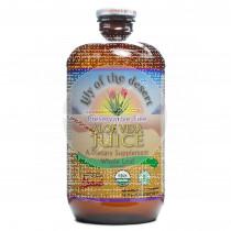 Jugo aloe vera organic botella cristal Lily of the Desert