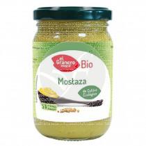 Mostaza Bio sin Lactosa sin huevo 200gr El Granero integral