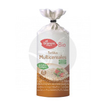Tortitas multicereales Bio Sin gluten 120gr Granero Integral