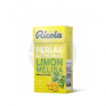 perlas De Limon y Melisa sin Azucar Ricola