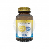 Vitamina D3+K2 60 Capsulas Plameca