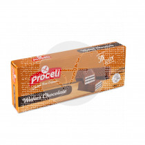 Wafers De Chocolate sin gluten Proceli