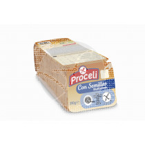 Pan De MolDe con Semillas sin gluten Proceli