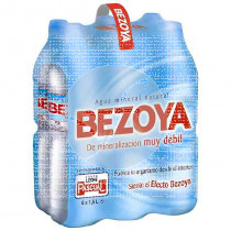 Agua mineral 1.5lt Bezoya