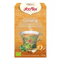 GINSENG FLOWER INFUSION YOGI TEA