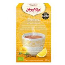 DETOX CON LIMON INFUSION BIO YOGI TEA