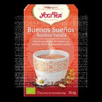 BUENOS SUEÑOS ROOIBOS VAINILLA INFUSION YOGI TEA