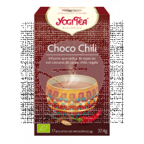 CHOCO CHILI BIO INFUSION YOGI TEA