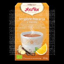 Jengibre naranja y vainilla infusión bio Yogi Tea