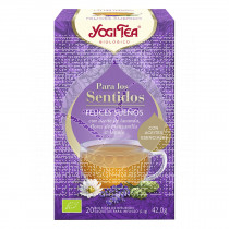 Infusión para los sentidos Felices Sueños Bio Yogi Tea