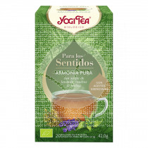 Infusión para los sentidos Armonia Pura Bio Yogi Tea