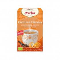 Infusión De Cúrcuma con Naranja Bio Yogi Tea
