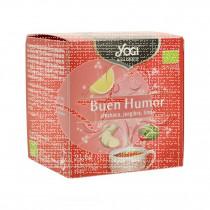 Infusión buen humor 12 bolsitas eco Yogi Tea