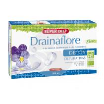 Drainaflore 20 viales Super Diet