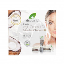 Set Facial Deluxe Virgin Coconut Oil Bio Dr. Organic