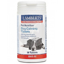 PET NUTRITION DOG CALMING COMPRIMIDOS LAMBERTS