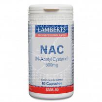 Nac N-Acetil Cisteína 600Mg Lamberts