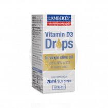 Vitamina D3 20ml Gotas Lamberts