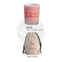 VELA NAVIDAD PERFUMADA RED FRUITS+BOLSA CERABELLA