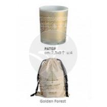 Vela Navidad perfumada golden forest + Bolsa Cerabella