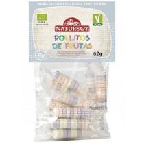 Rollitos De Frutas Bio Vegano Natursoy