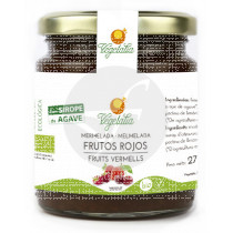 Mermelada De Frutos Rojos con Agave Bio Vegano Vegetalia