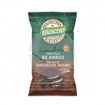 Tortitas de Arroz con Chocolate Negro Bio Biocop