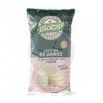 Tortitas de arroz con yogur bio Biocop