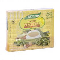 CALDO VEGETAL CUBITOS CON SAL BIOCOP