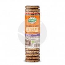 Galletas trigo integral con chia, lino y jengibre Biocop