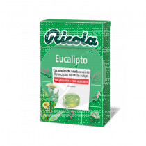 Caramelos De Eucalipto sin Azucar Ricola