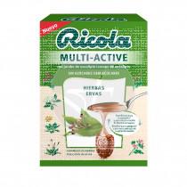 Caramelos de Hierbas Multi-Active sin azúcar Ricola