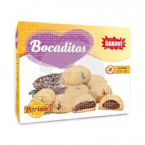Bocaditos Rellenos De Cacao sin gluten Harisin