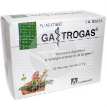 Gastrogas 20 Infusiones Fharmocat Gandia