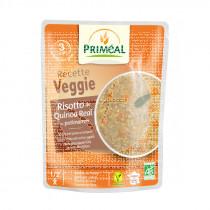 Risoto de quinoa y calabaza potimarron bio vegano Primeal